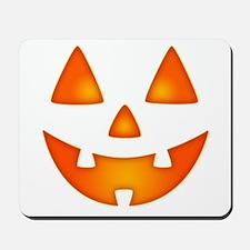 Happy Pumpkin Face Mousepad