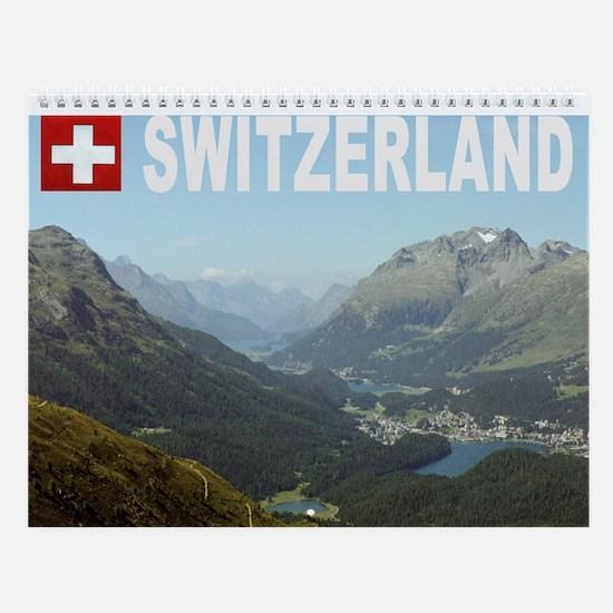Swiss Wall Calendar