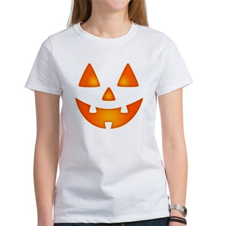 Happy Pumpkin Face T-Shirt