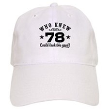 Funny 78th Birthday Baseball Cap