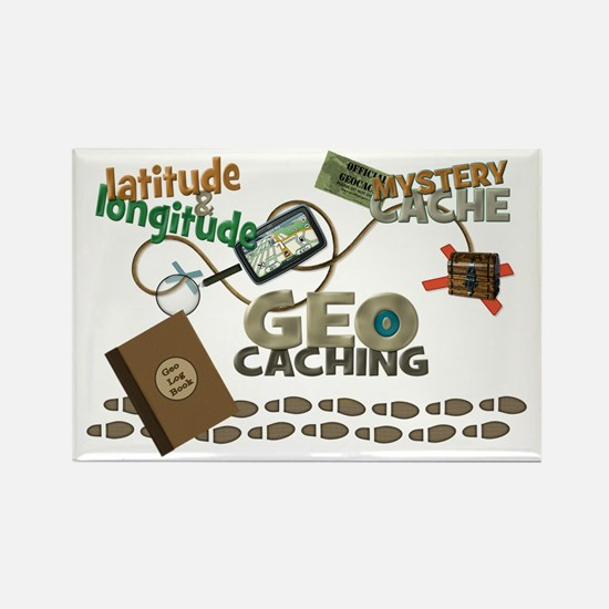 Geocache Fever Rectangle Magnet