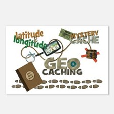 Geocache Fever Postcards (Package of 8)