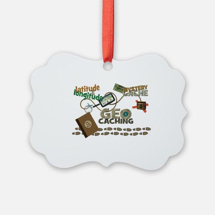 Geocache Fever Ornament