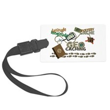 Geocache Fever Luggage Tag