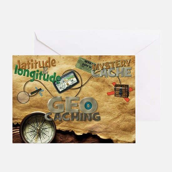 Geocache Fever Greeting Card