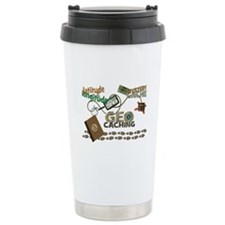 Geocache Fever Travel Coffee Mug