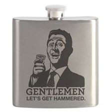 Let's Get Hammered Flask