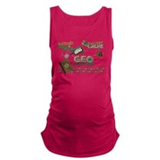 Geocache Fever Maternity Tank Top