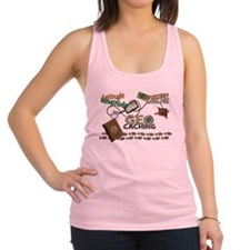 Geocache Fever Racerback Tank Top