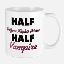 Half Welfare Rights Adviser Half Vampire Mugs
