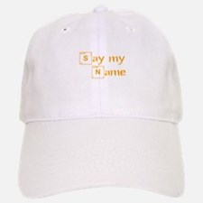 say-my-name-break-orange 2 Baseball Baseball Baseball Cap
