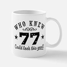 Funny 77th Birthday Mug