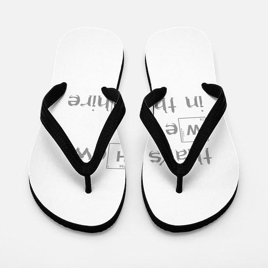 roll-in-shire-break-gray Flip Flops