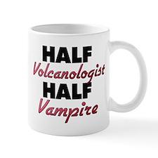 Half Volcanologist Half Vampire Mugs