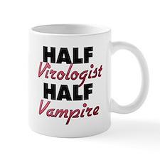 Half Virologist Half Vampire Mugs