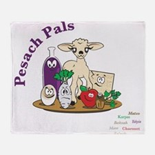 Pesach Pals Throw Blanket
