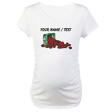 Custom Basket Of Strawberries Shirt