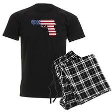 American Flag Gun Pajamas