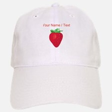 Custom Strawberry Baseball Baseball Cap
