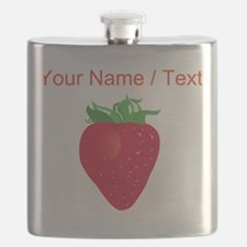 Custom Strawberry Flask
