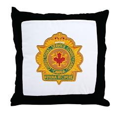 Canada Corrections Throw Pillow