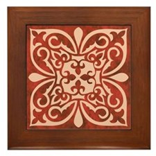 CARNELIAN Framed Tile