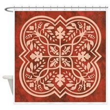 CARNELIAN Shower Curtain