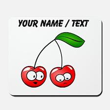 Custom Cartoon Cherries Mousepad