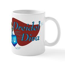 Dreidel Diva Mugs