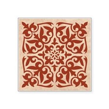 "CARNATION Square Sticker 3"" x 3"""
