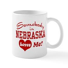 Somebody in Nebraska Loves Me Mug