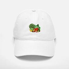 Fruits And Vegetables Baseball Baseball Cap