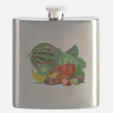 Fruits And Vegetables Flask