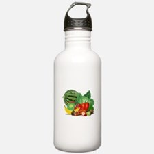 Fruits And Vegetables Sports Water Bottle