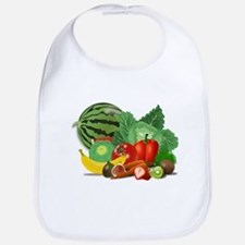 Fruits And Vegetables Bib