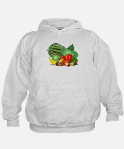 Fruits And Vegetables Hoody