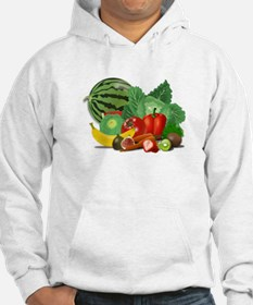 Fruits And Vegetables Jumper Hoody