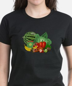 Fruits And Vegetables T-Shirt