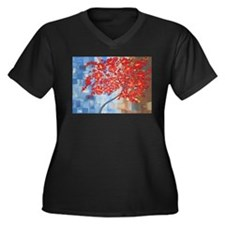 red tree Plus Size T-Shirt