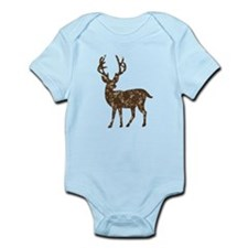 Flower Reindeer Infant Bodysuit