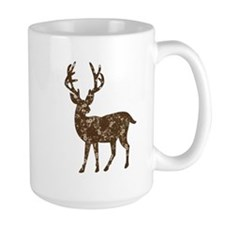 Flower Reindeer Mug