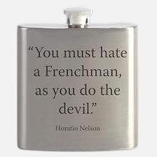 Advice to Midshipmen Flask