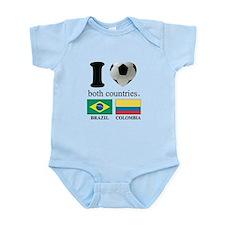 BRAZIL-COLOMBIA Infant Bodysuit