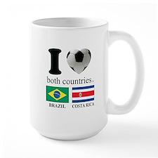 BRAZIL-COSTA RICA Mug