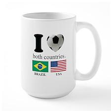 BRAZIL-USA Mug