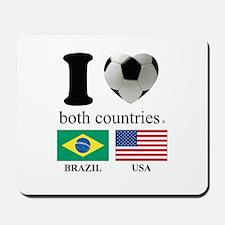 BRAZIL-USA Mousepad