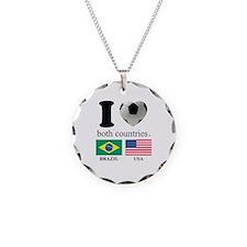BRAZIL-USA Necklace