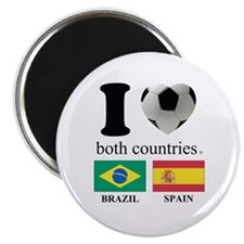 BRAZIL-SPAIN Magnet