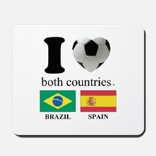 BRAZIL-SPAIN Mousepad