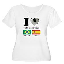 BRAZIL-SPAIN T-Shirt